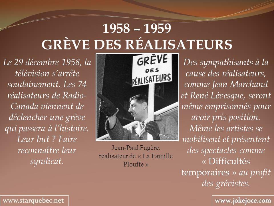 GRÈVE DES RÉALISATEURS
