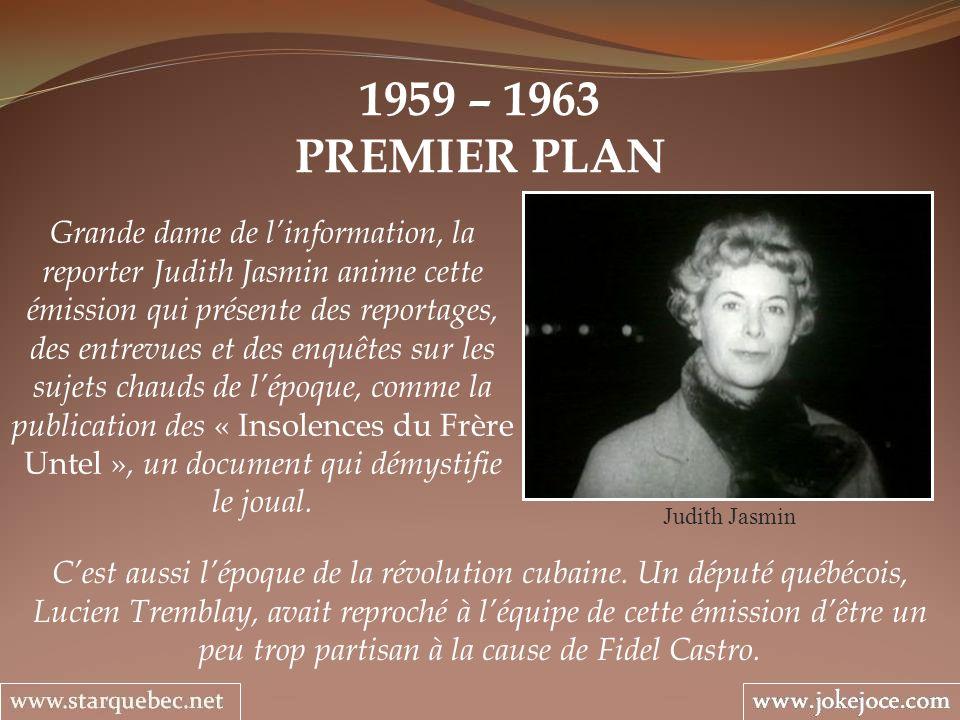 1959 – 1963 PREMIER PLAN.