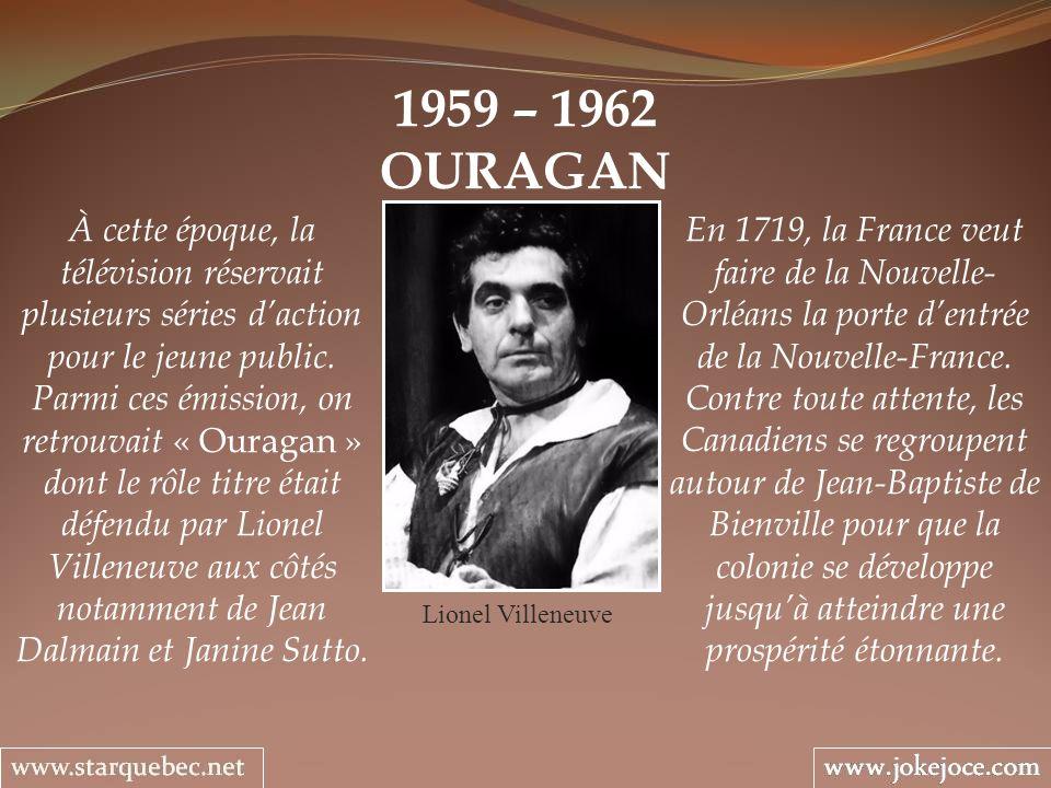 1959 – 1962 OURAGAN.
