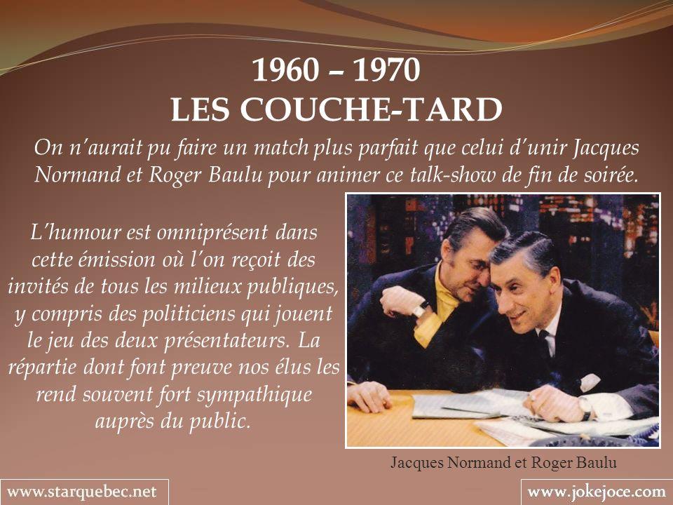 Jacques Normand et Roger Baulu