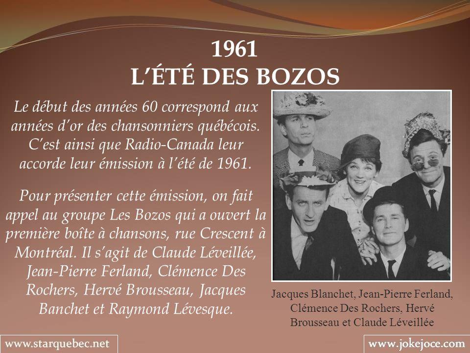 1961 L'ÉTÉ DES BOZOS.