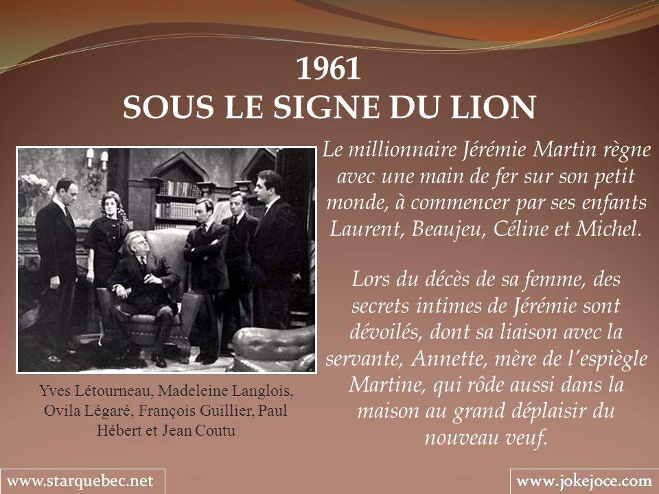 1961 SOUS LE SIGNE DU LION.