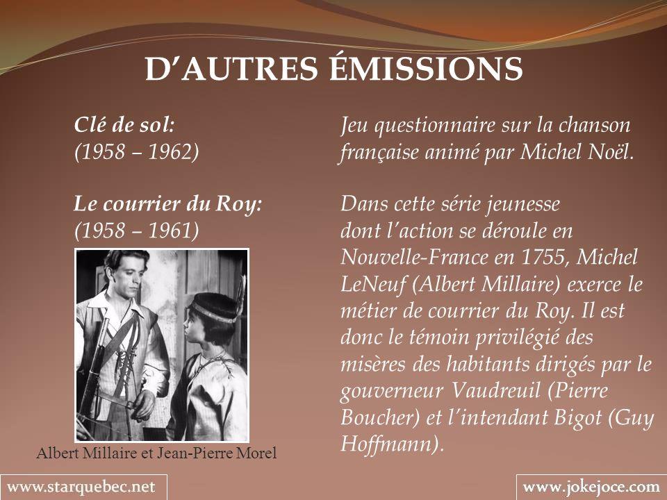 Albert Millaire et Jean-Pierre Morel