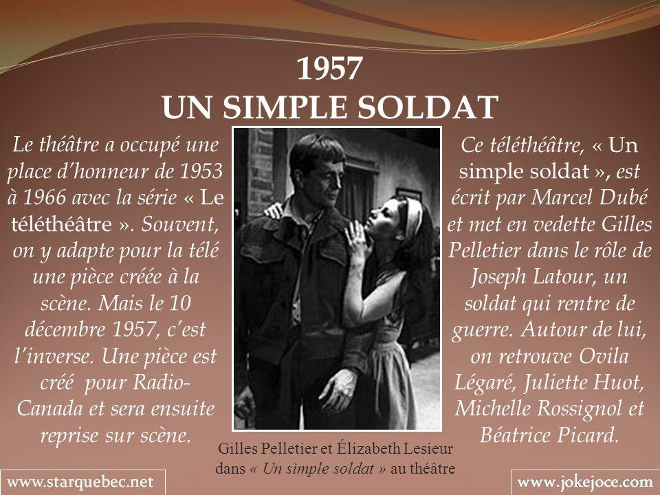 1957 UN SIMPLE SOLDAT.
