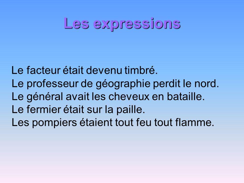 Les expressions