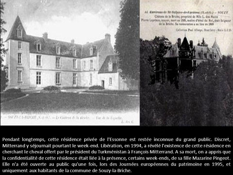 Pendant longtemps, cette résidence privée de l Essonne est restée inconnue du grand public.