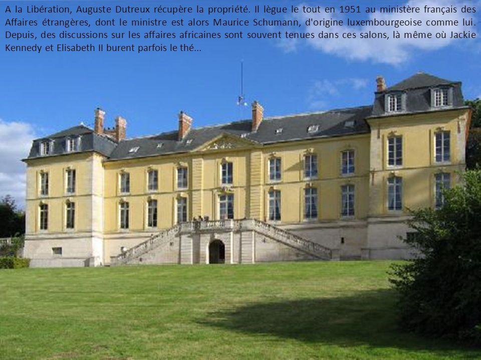 A la Libération, Auguste Dutreux récupère la propriété