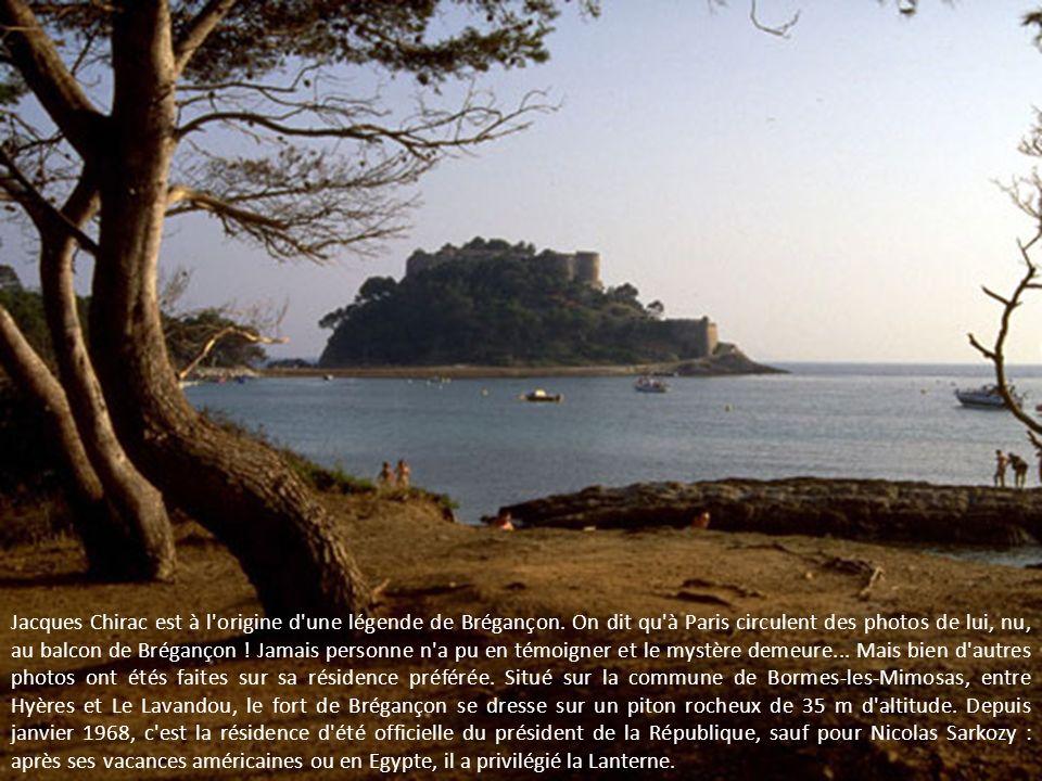 Jacques Chirac est à l origine d une légende de Brégançon