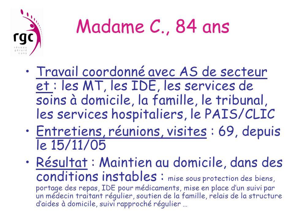 Madame C., 84 ans