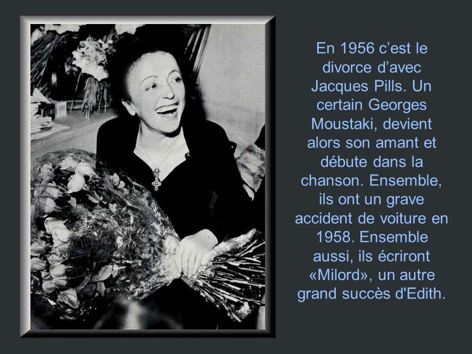 En 1956 c'est le divorce d'avec Jacques Pills