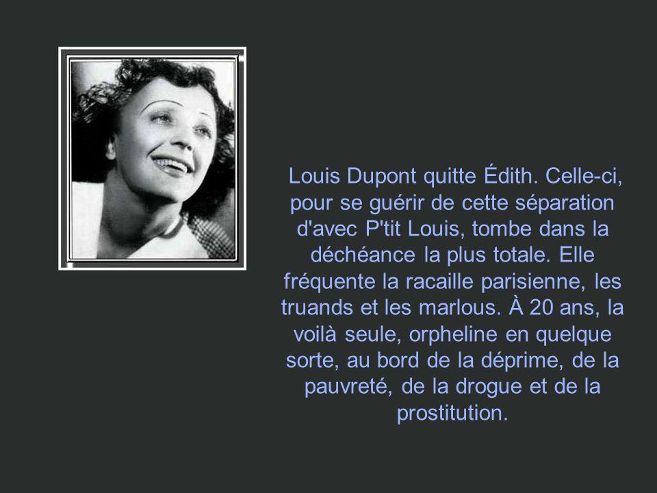 Louis Dupont quitte Édith