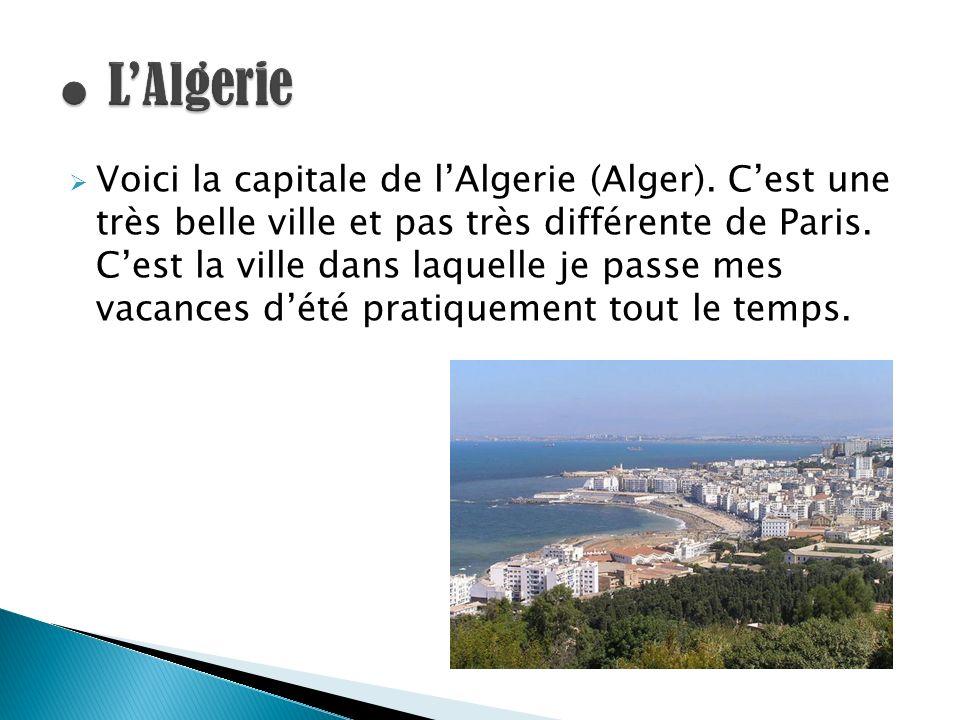 ● L'Algerie