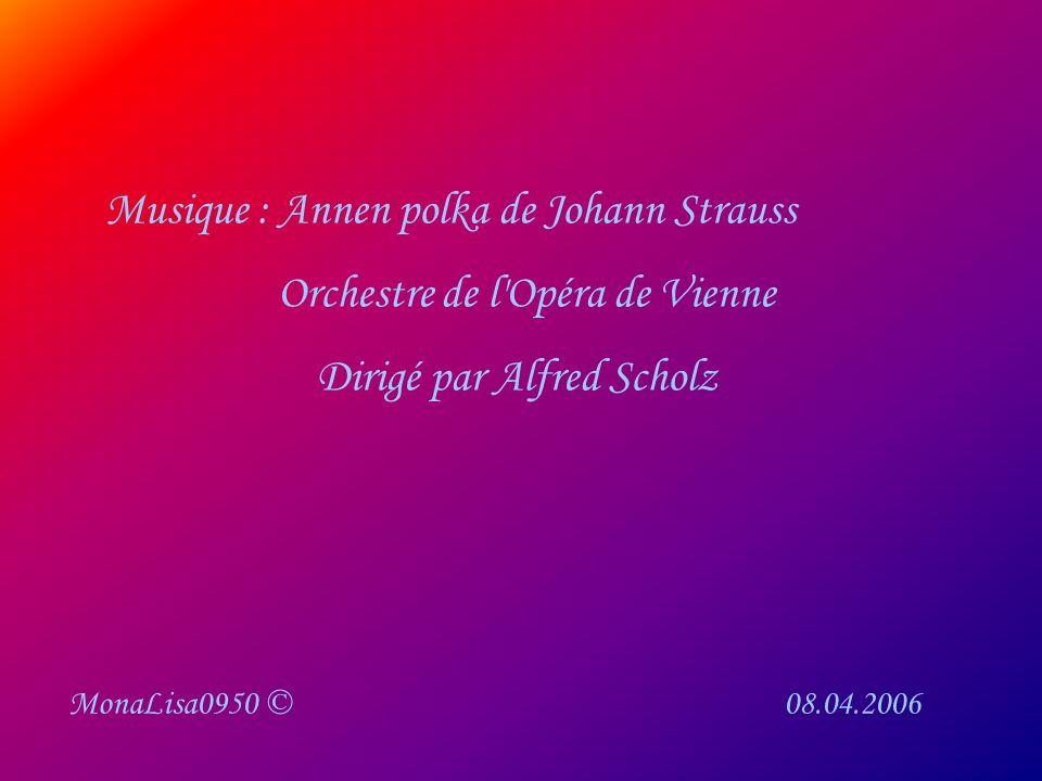 Musique : Annen polka de Johann Strauss Orchestre de l Opéra de Vienne