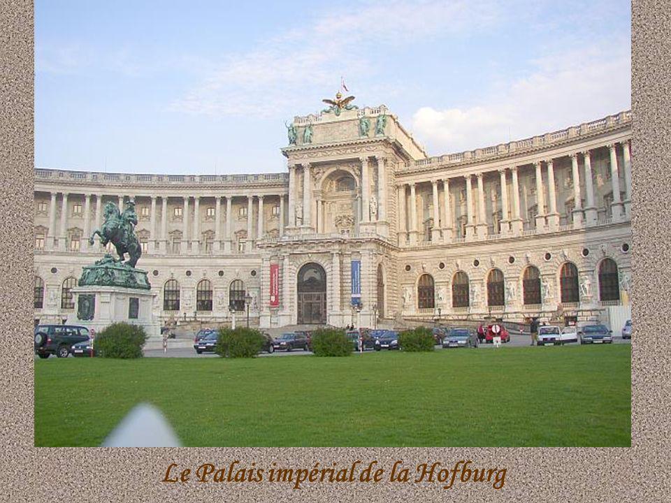 Le Palais impérial de la Hofburg
