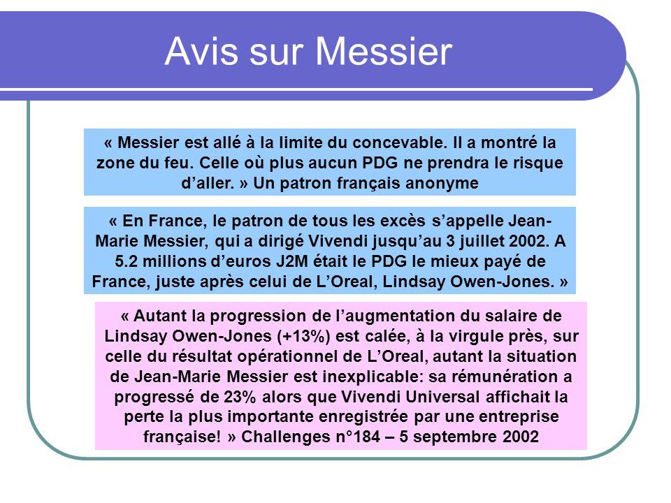 Avis sur Messier