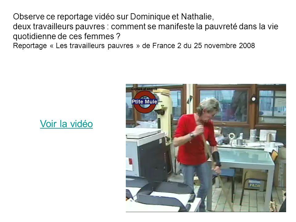 Voir la vidéo Observe ce reportage vidéo sur Dominique et Nathalie,