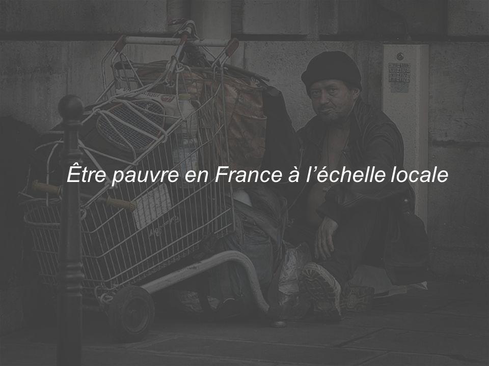 Être pauvre en France à l'échelle locale