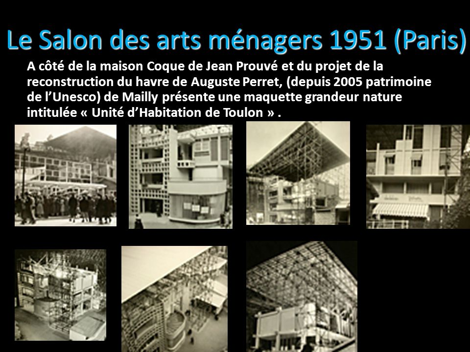 Le Salon des arts ménagers 1951 (Paris)