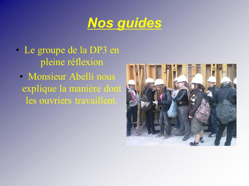 Le groupe de la DP3 en pleine réflexion