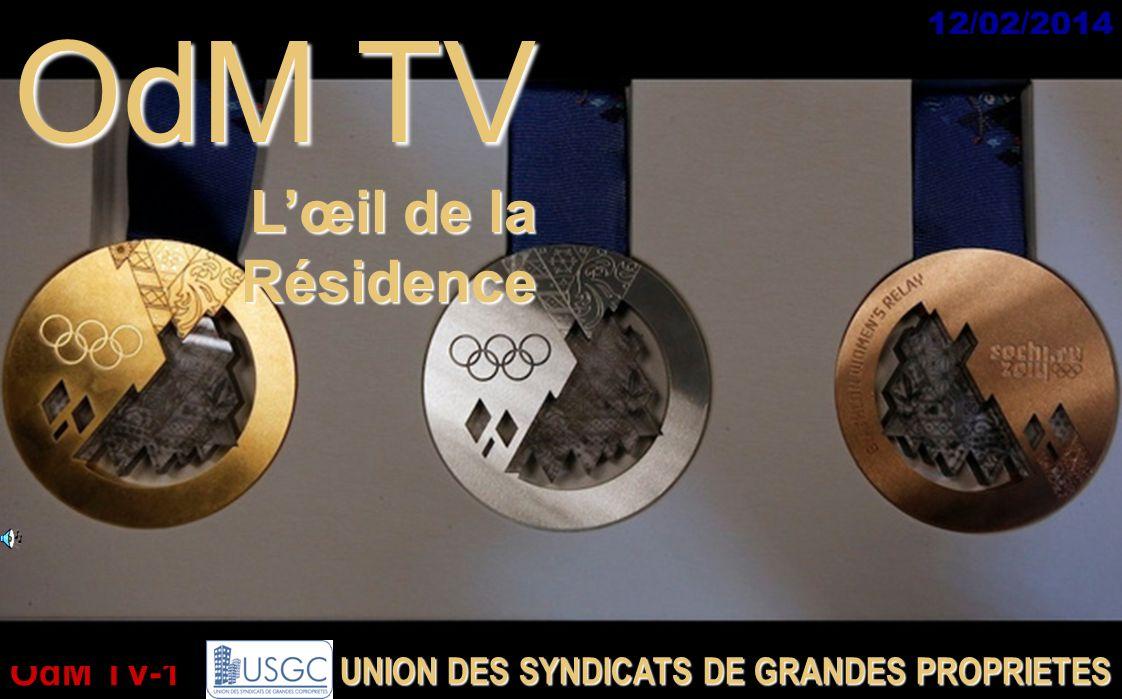 OdM TV L'œil de la Résidence UNION DES SYNDICATS DE GRANDES PROPRIETES