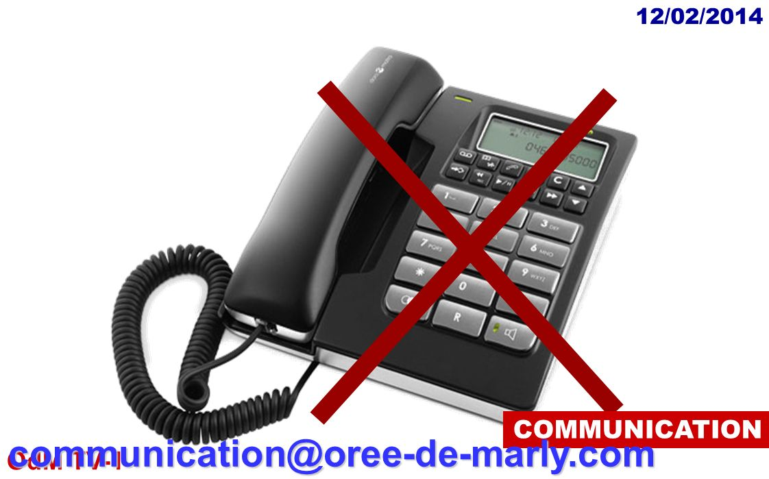 COMMUNICATION communication@oree-de-marly.com