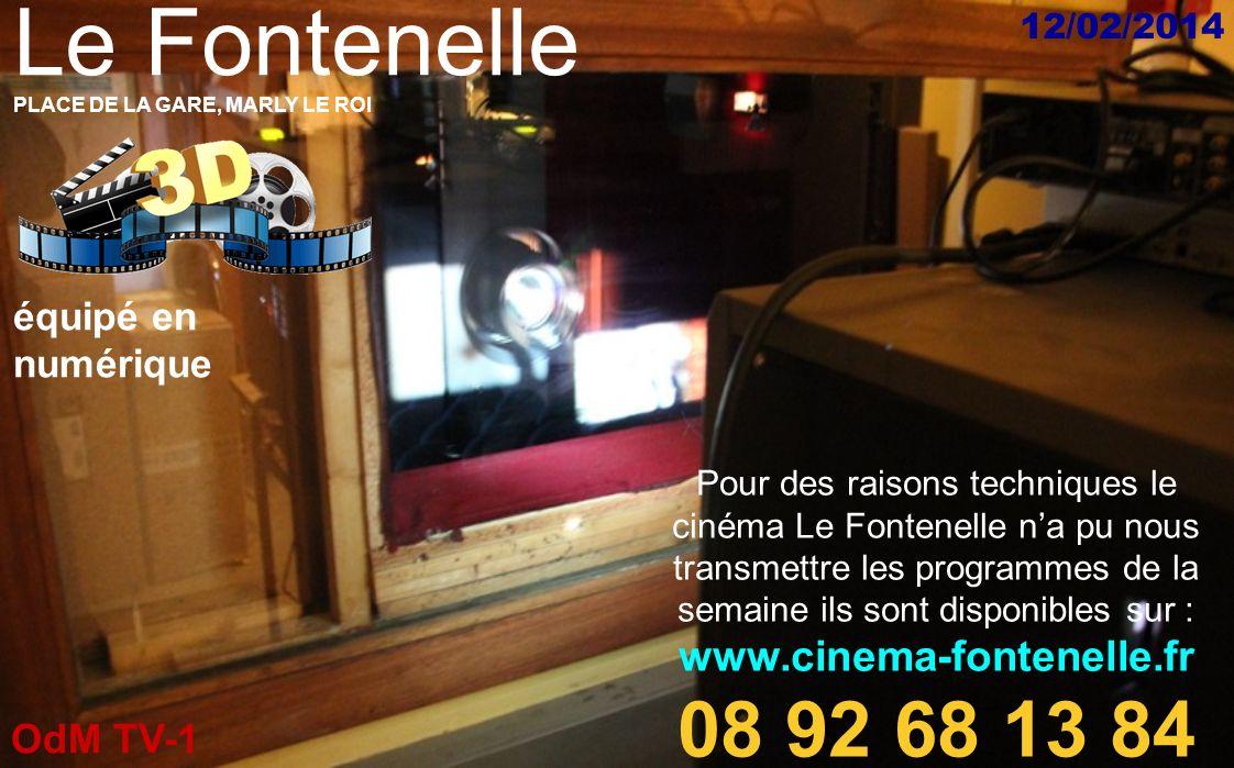 Le Fontenelle 08 92 68 13 84 www.cinema-fontenelle.fr