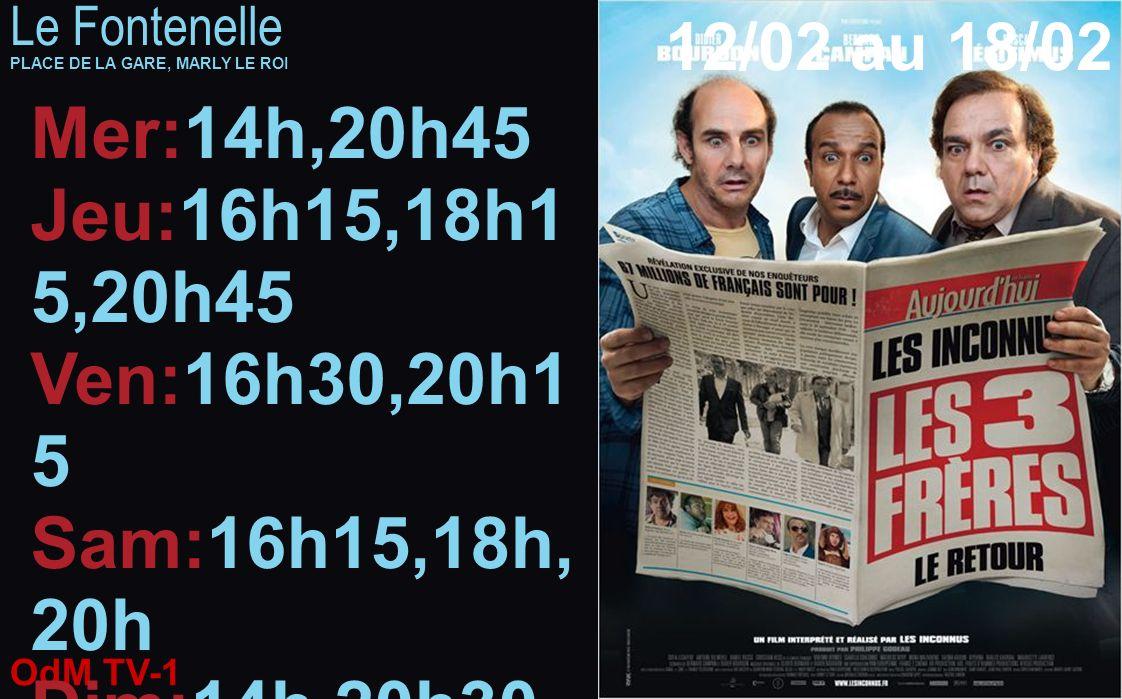 Mer:14h,20h45 Jeu:16h15,18h15,20h45 Ven:16h30,20h15 Sam:16h15,18h,20h