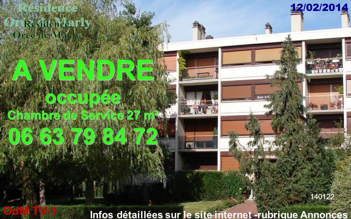 A VENDRE 06 63 79 84 72 occupée Chambre de Service 27 m²