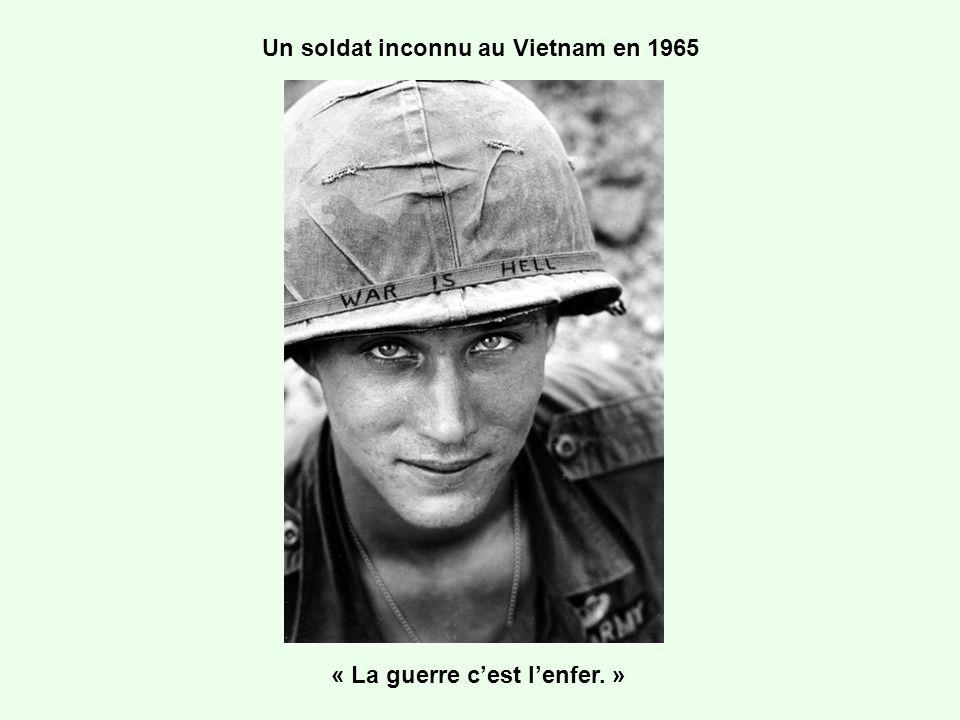 Un soldat inconnu au Vietnam en 1965