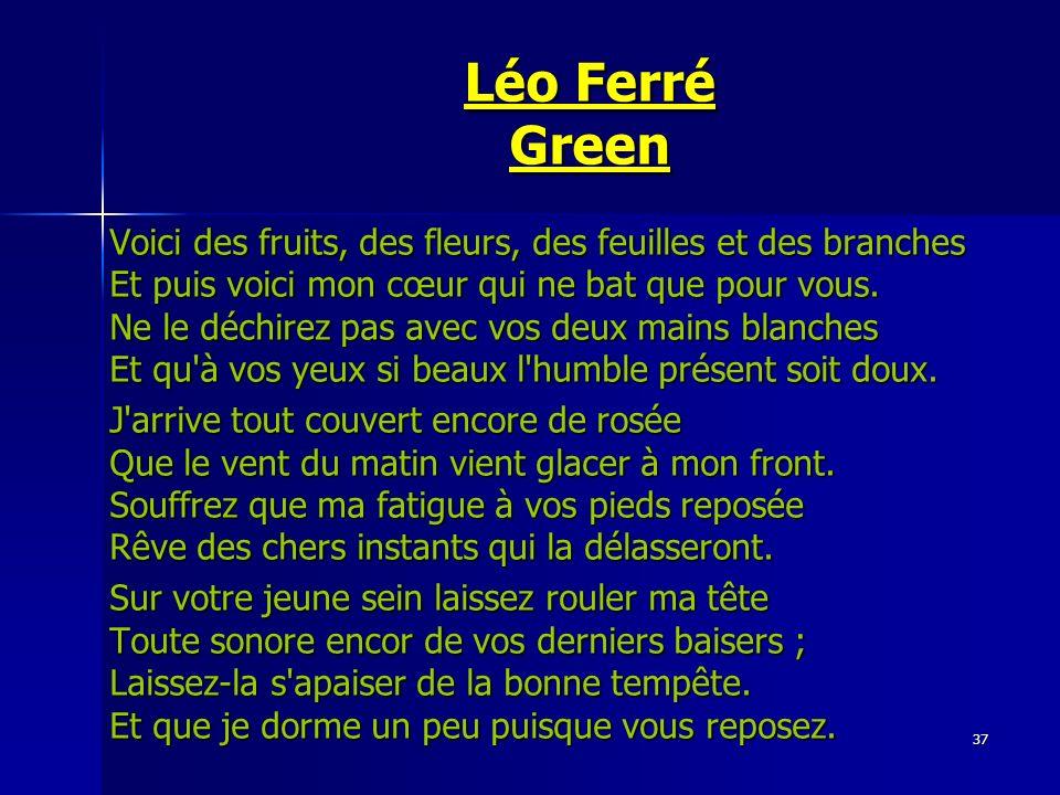 Léo Ferré Green