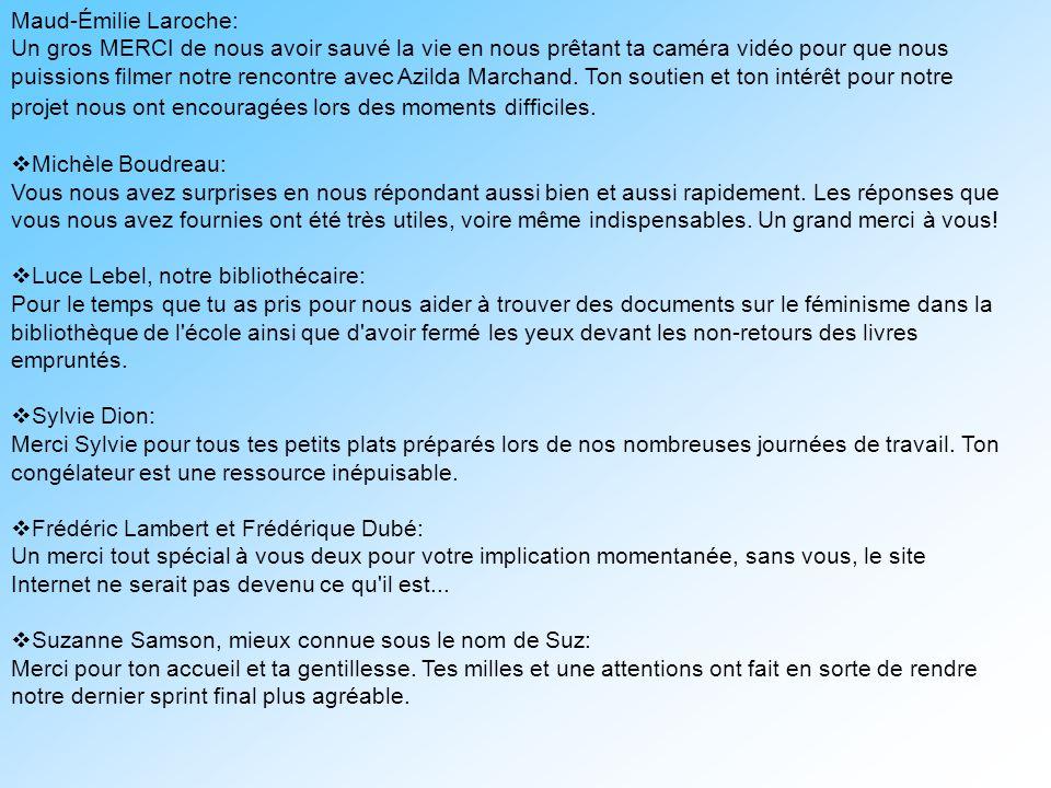 Maud-Émilie Laroche: