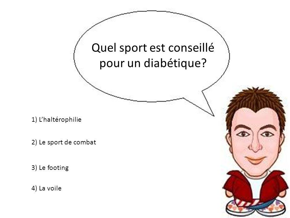Quel sport est conseillé pour un diabétique