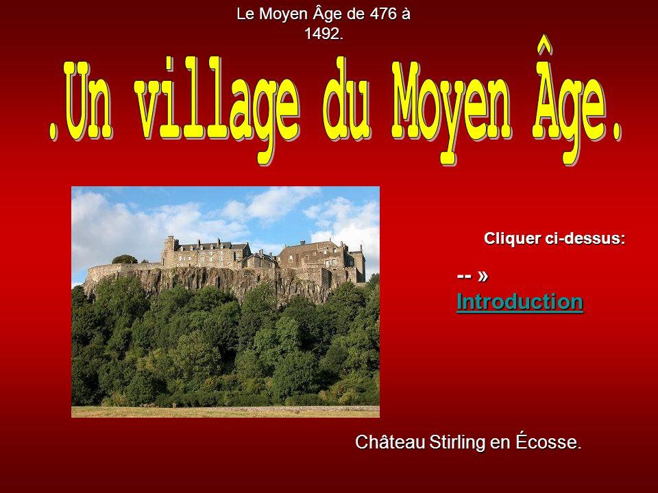 Château Stirling en Écosse.