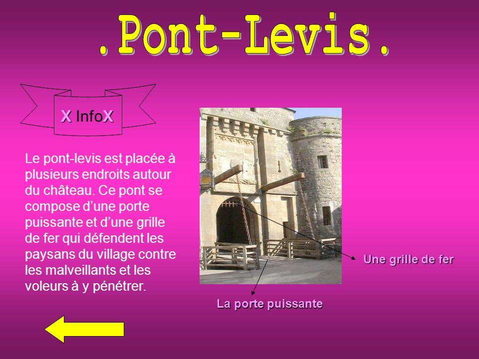 .Pont-Levis. X InfoX.