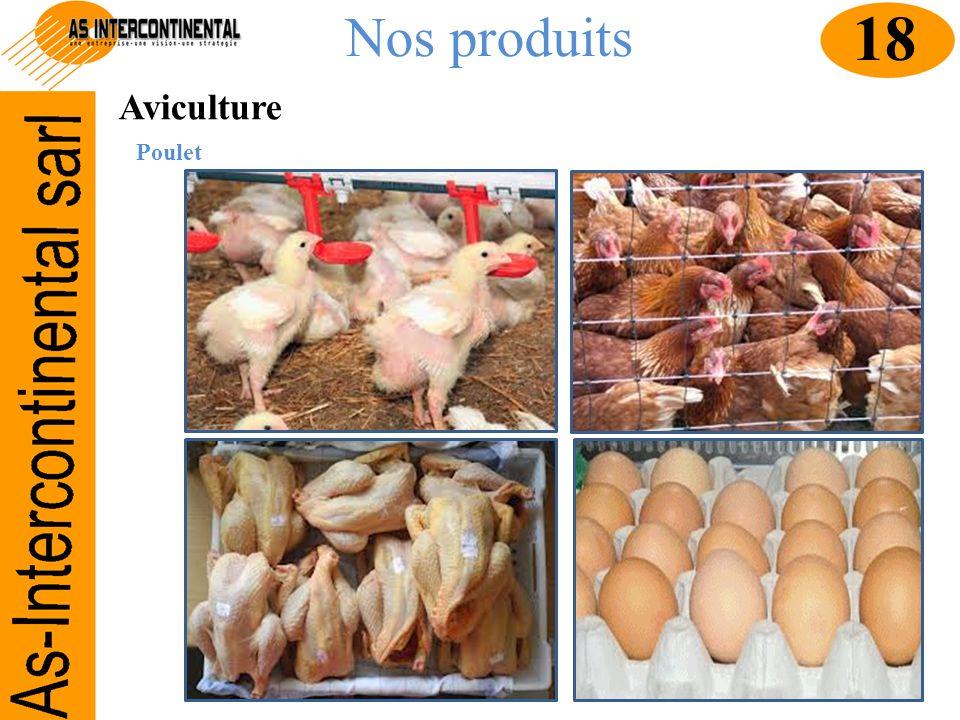 Nos produits 18 Aviculture Poulet