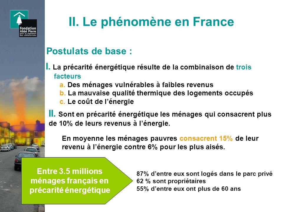 II. Le phénomène en France
