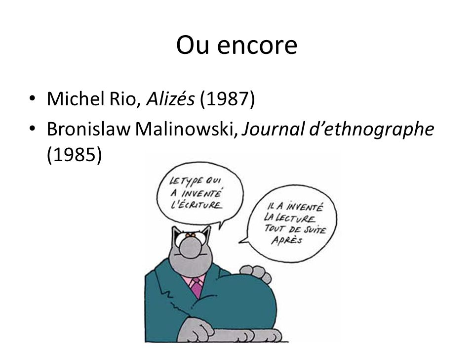 Ou encore Michel Rio, Alizés (1987)