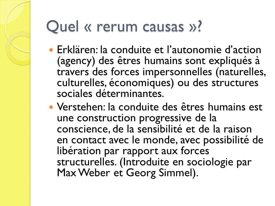 Quel « rerum causas »
