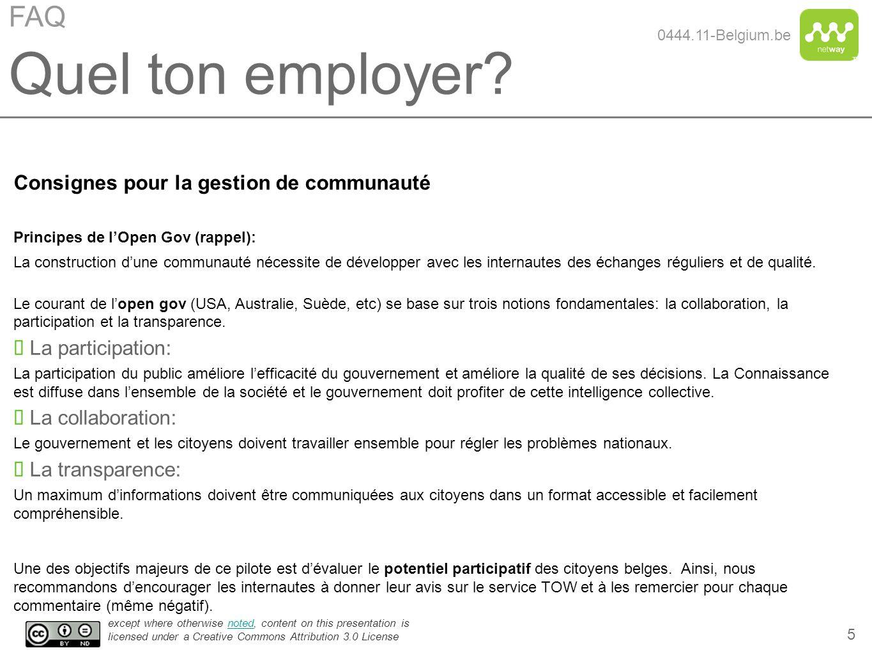 Quel ton employer FAQ Consignes pour la gestion de communauté