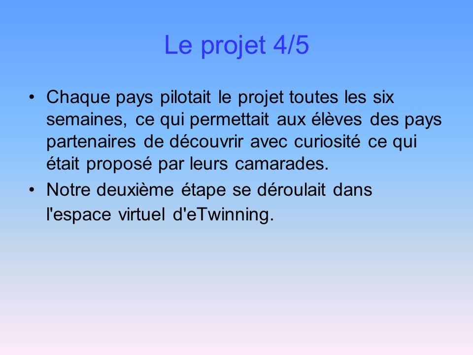 Le projet 4/5