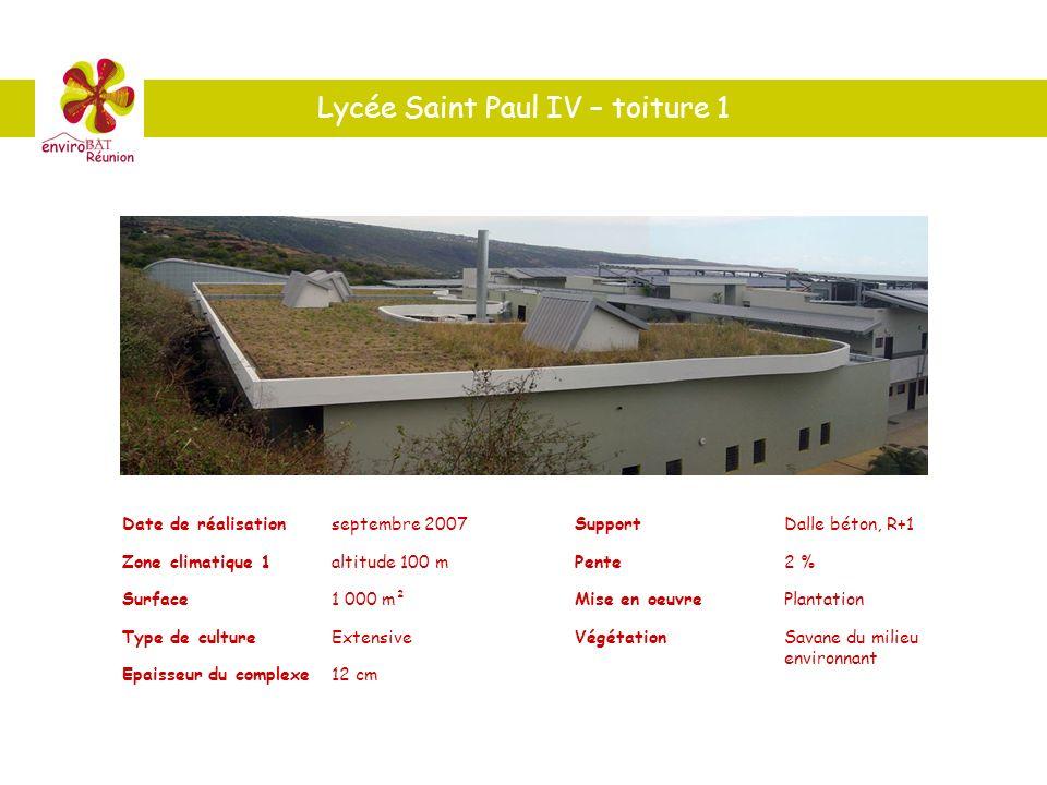 Lycée Saint Paul IV – toiture 1