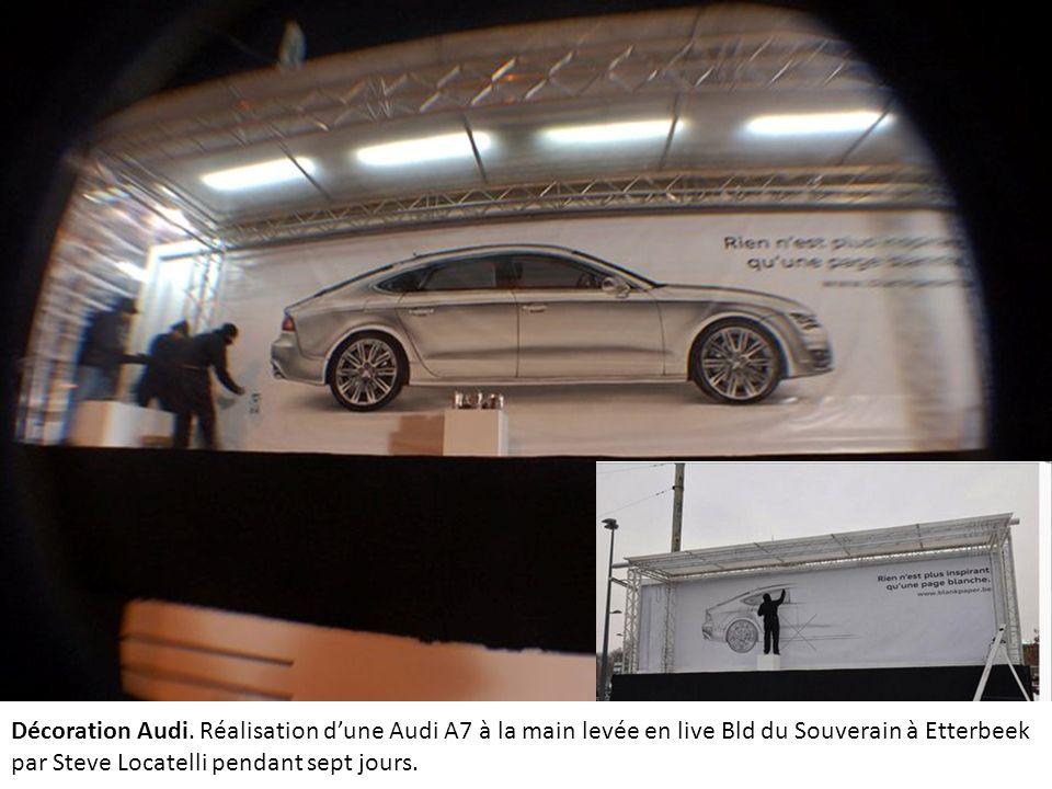 Décoration Audi.