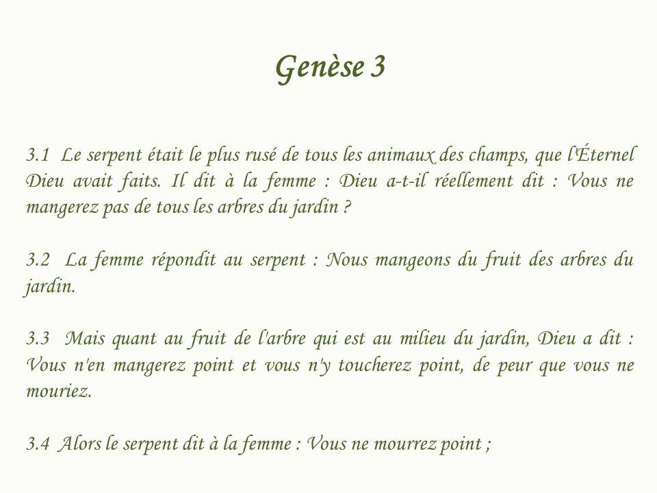 Genèse 3