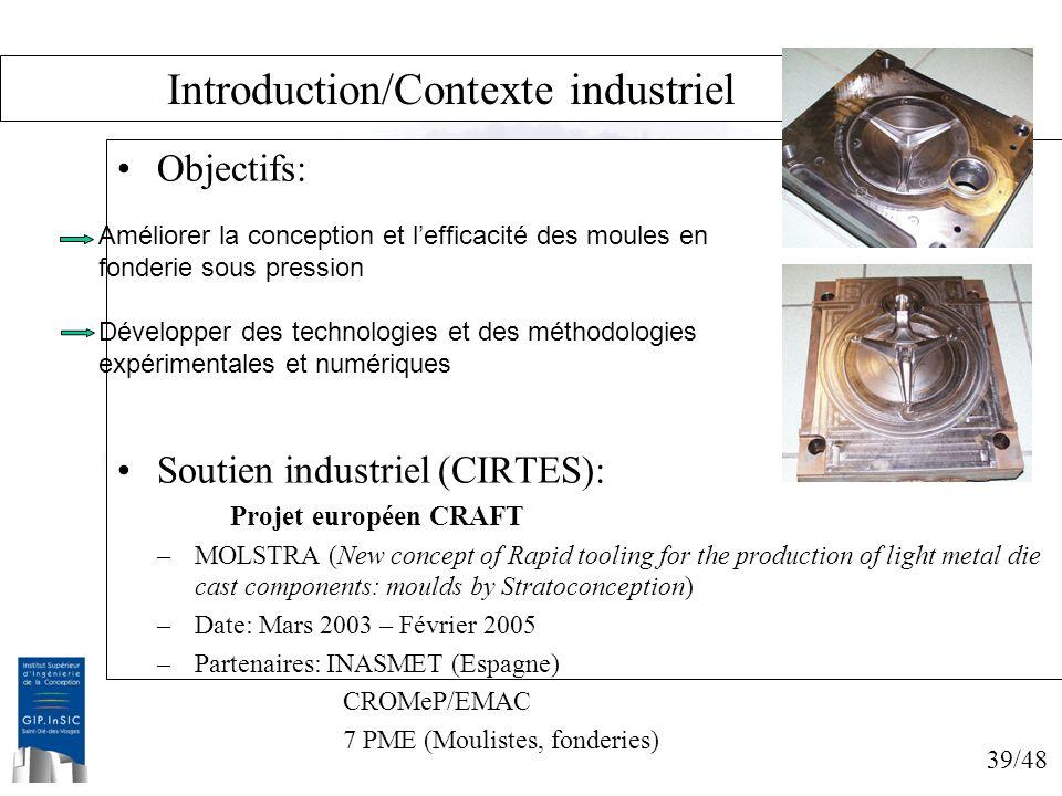Introduction/Contexte industriel