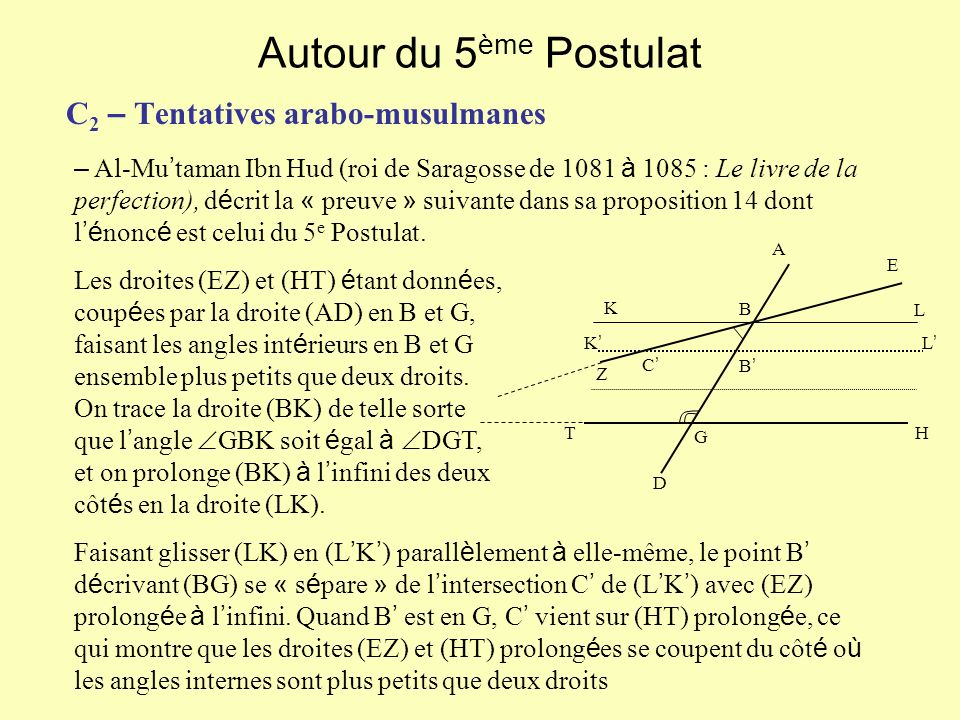 C2 – Tentatives arabo-musulmanes