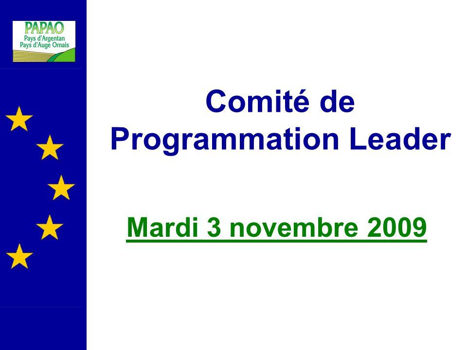 Comité de Programmation Leader
