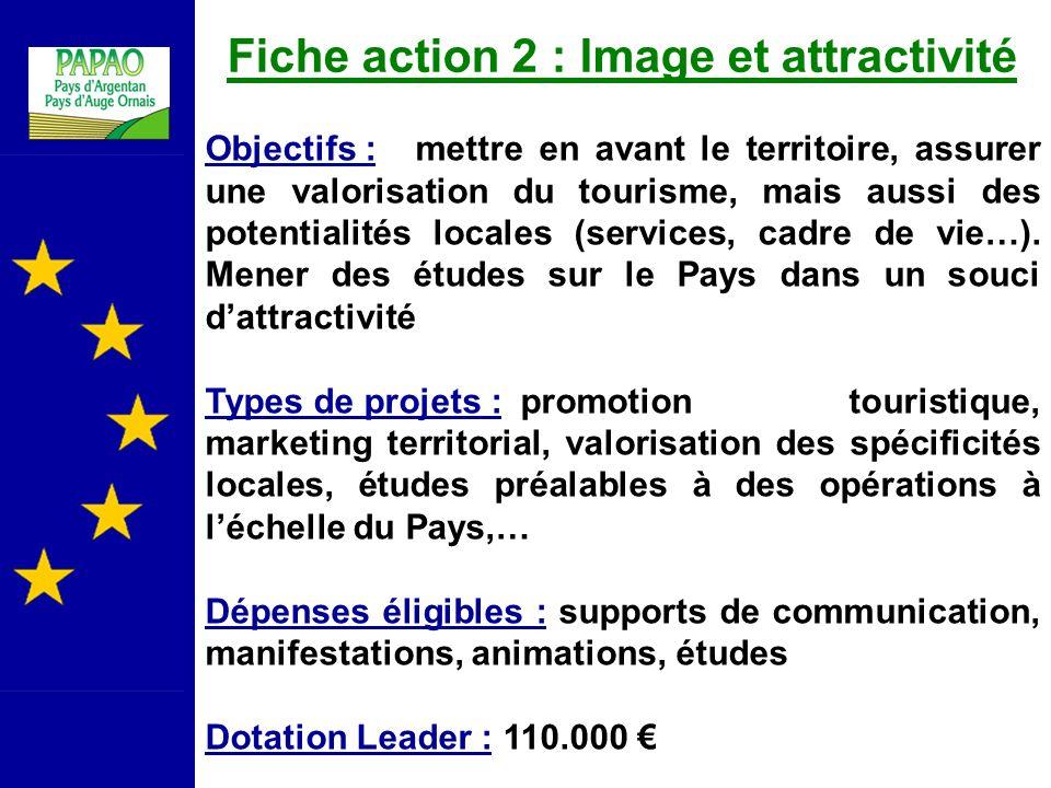 Fiche action 2 : Image et attractivité