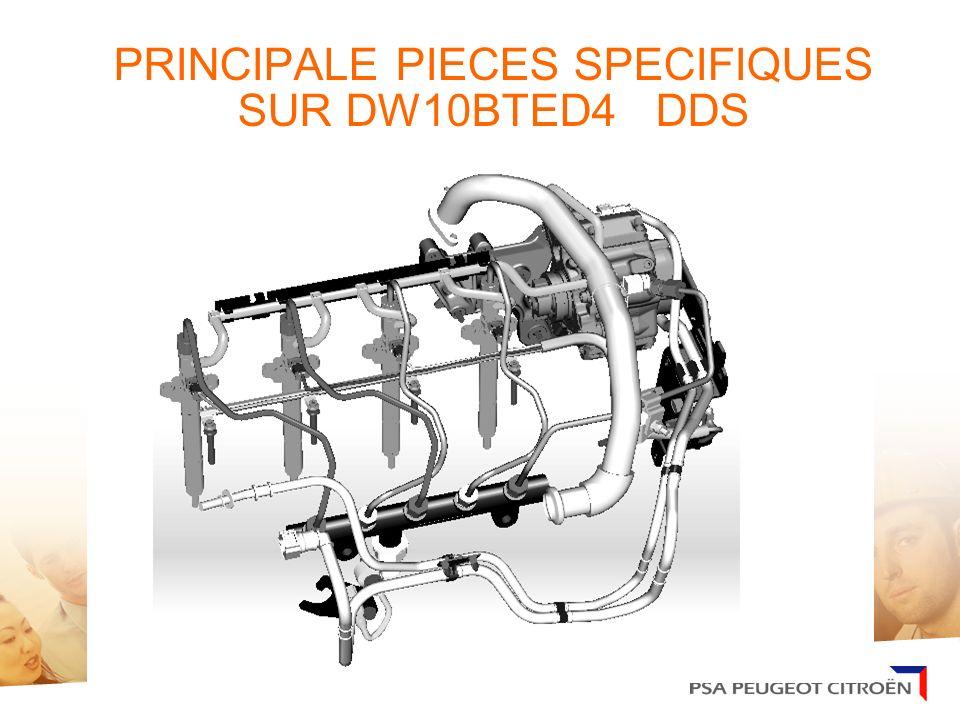 PRINCIPALE PIECES SPECIFIQUES SUR DW10BTED4 DDS