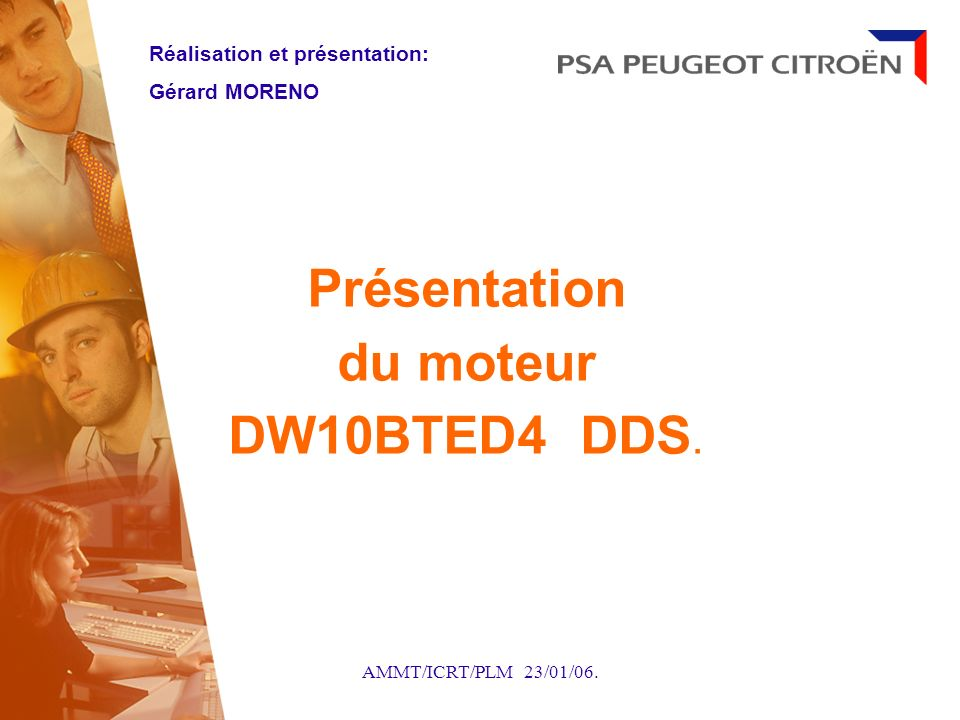 Présentation du moteur DW10BTED4 DDS.