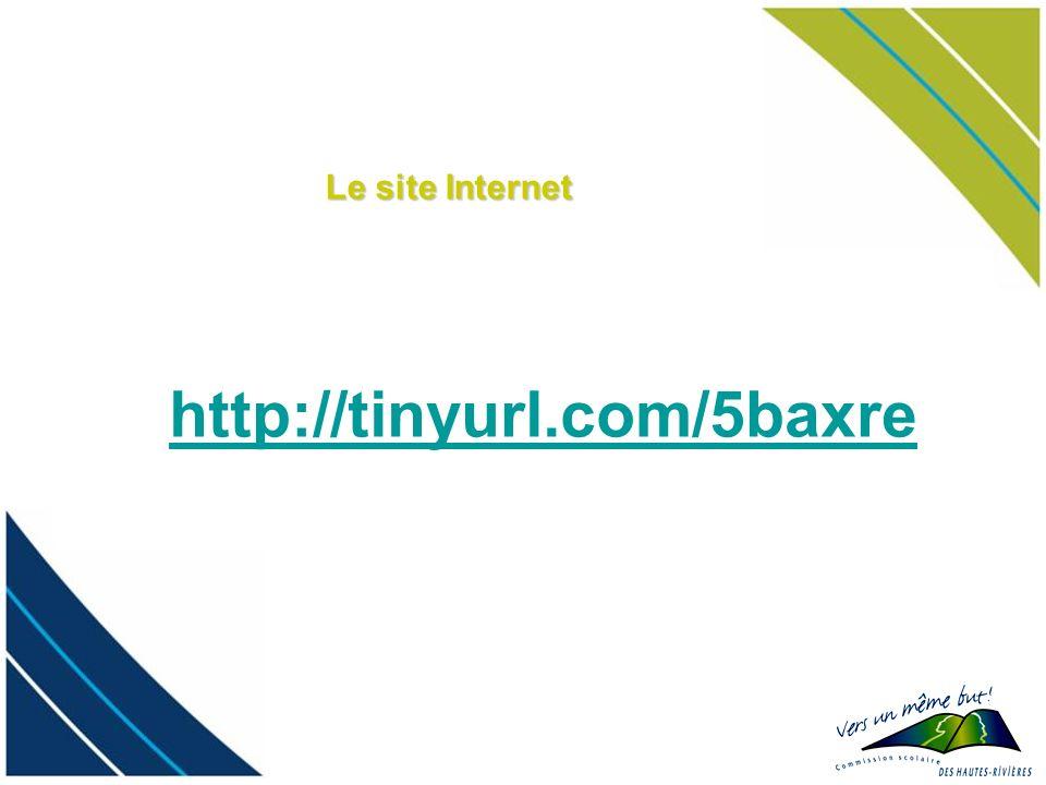Le site Internet http://tinyurl.com/5baxre